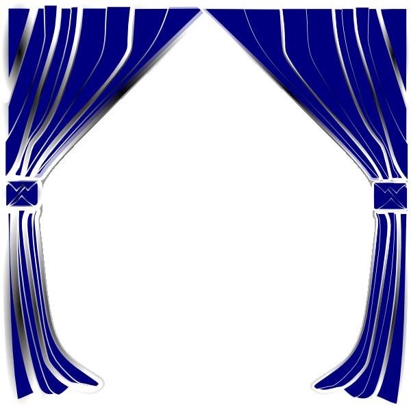 600x598 Theater Curtain Clipart