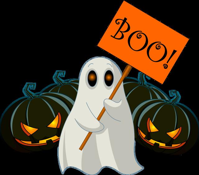 640x563 Boo Clip Art
