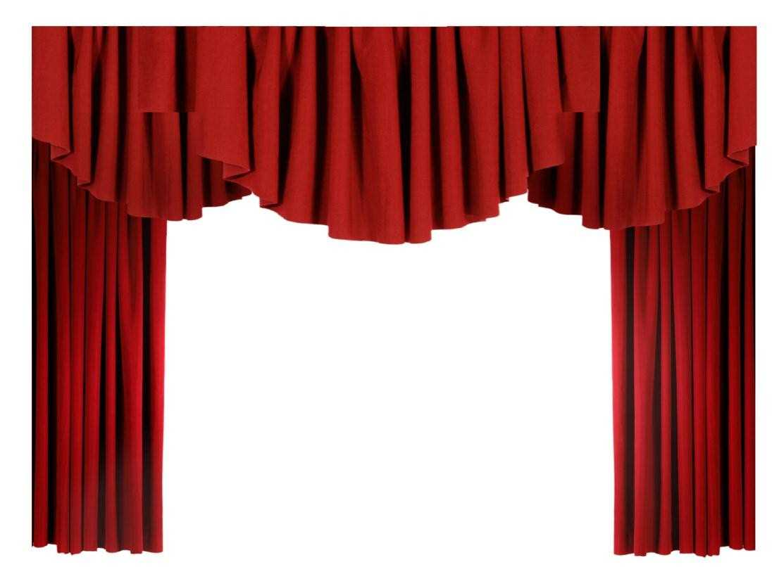 1106x806 Unique Curtains Monster Curtain To Theater Clip Art