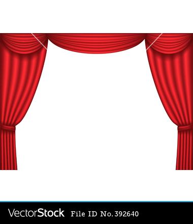 380x440 Broadway Clipart Curtain