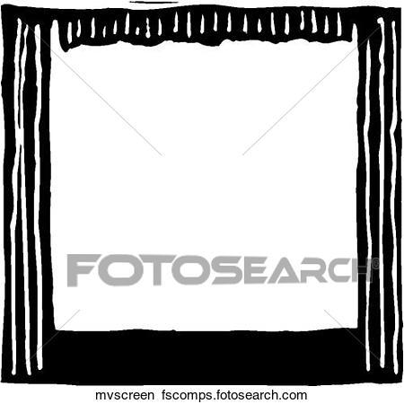450x450 Clipart Of Movie Screen Mvscreen