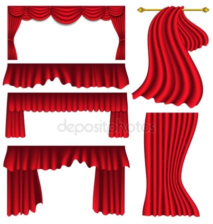 427x450 Stage Curtain Stock Vectors, Royalty Free Stage Curtain