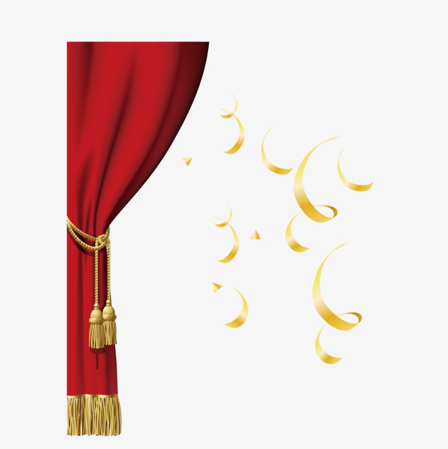 650x651 Red Stage Curtain Drape Decoration Pictures, Stage Curtains, Red