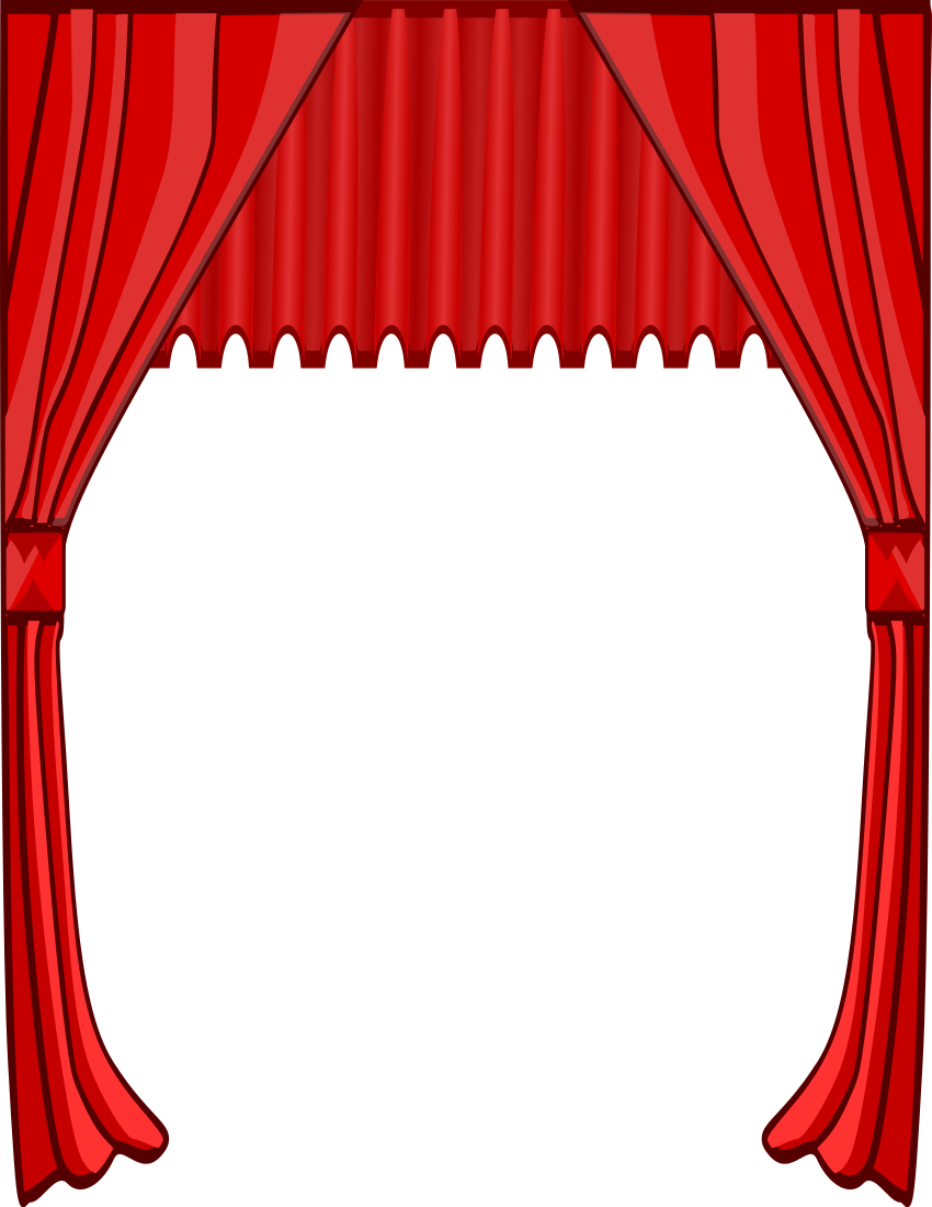850x1100 Light Clipart Stage Play