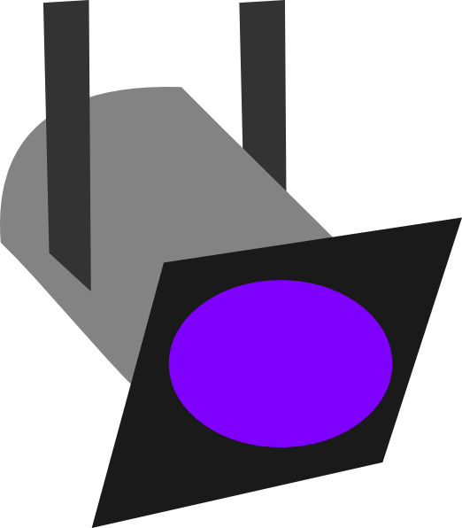 522x596 Movie Light Clip Art