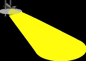 300x213 Spot Light Clip Art