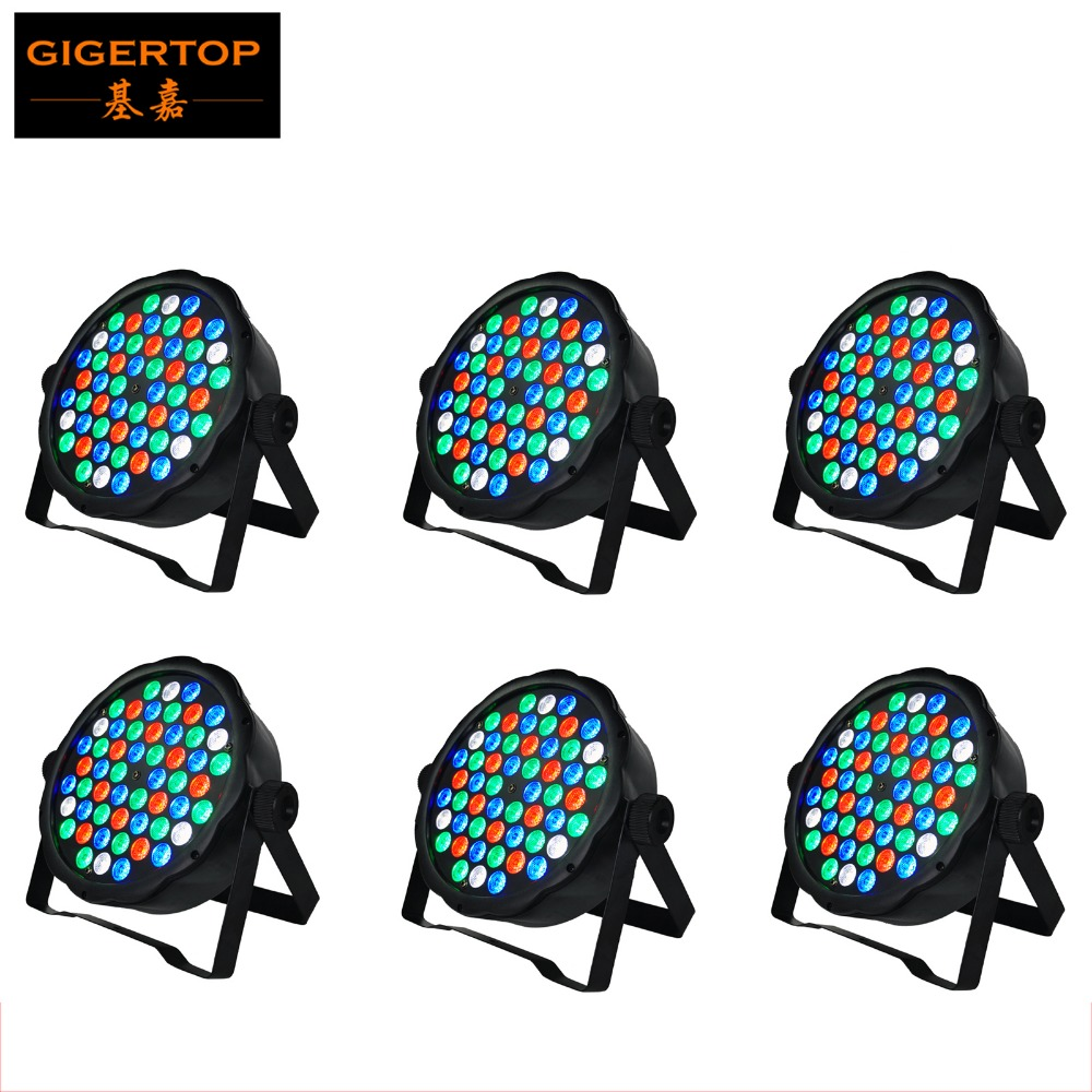 1000x1000 Cheap Price 6XLot Hot Selling Led Par Stage DJ Lights 54pcs 1W
