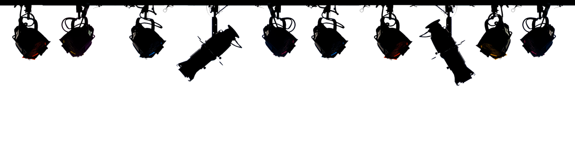 1179x314 Graphics For Stage Lights Transparent