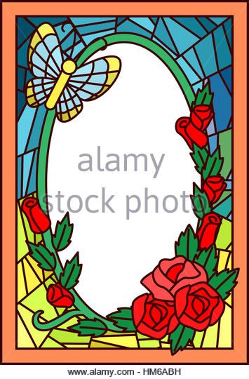 355x540 Flower Border Clip Art Stock Photos Amp Flower Border Clip Art Stock