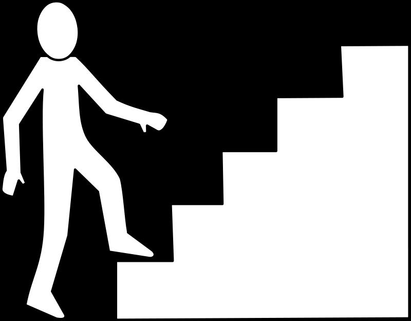 800x624 Clip Art Stairs