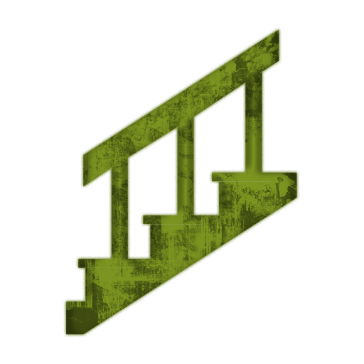512x512 Clipart Stairs
