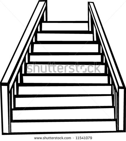 421x470 Design Clipart Stair