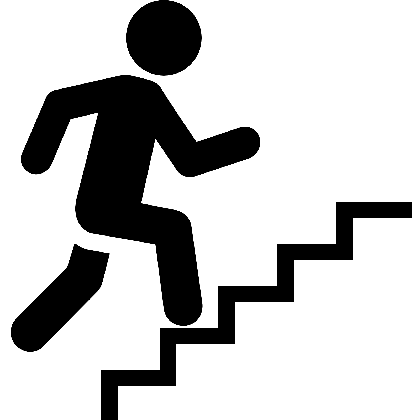 1600x1600 Airplane Clipart Stair