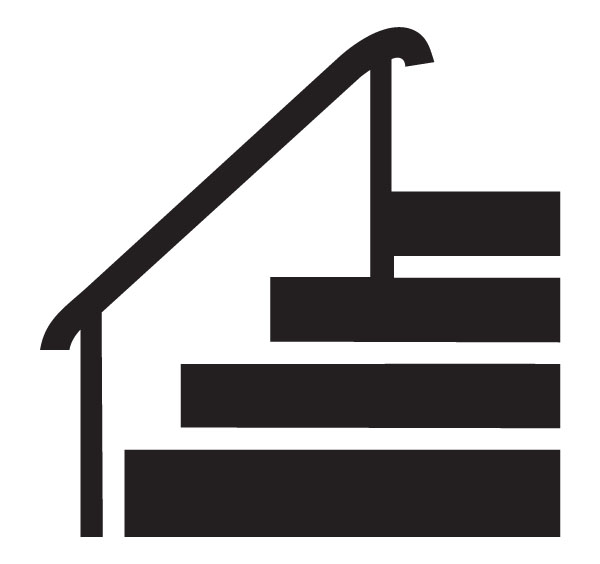 600x564 Stairs Clipart