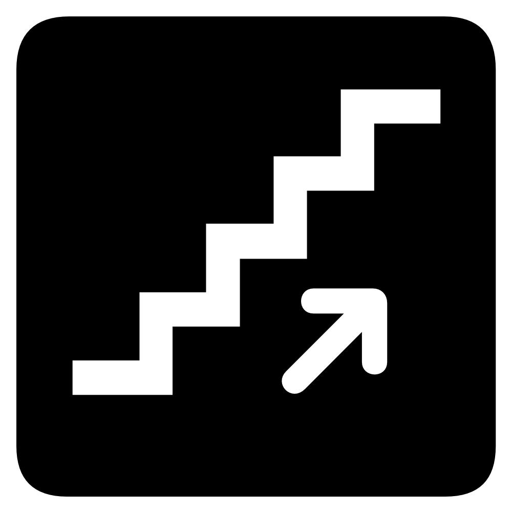 1000x1000 Stairs St Clip Art Tumundografico