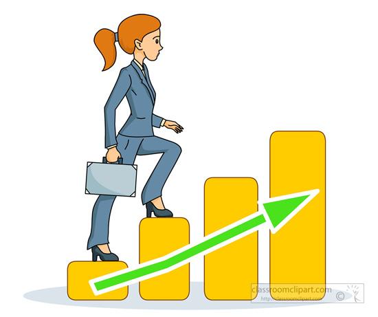 550x461 Women Clipart Climbing Stair
