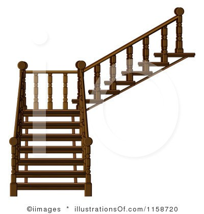 400x420 Clip Art Stairs Outline Staircase Gallery