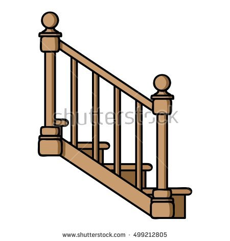450x470 Bamboo Clipart Stair