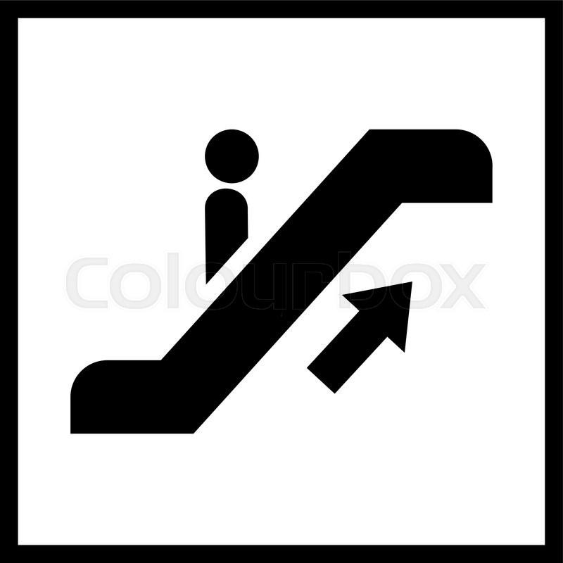 800x800 Escalator Staircase Icon.vector Escalator Staircase Icon.escalator