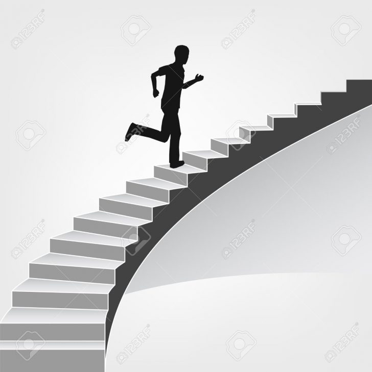 728x729 Stairs 2 Clip Art At Vector Online, Royalty