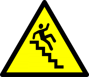 300x261 Stairs Clip Art Download