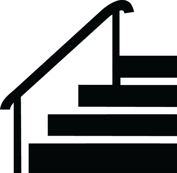 600x588 Stairs Clipart