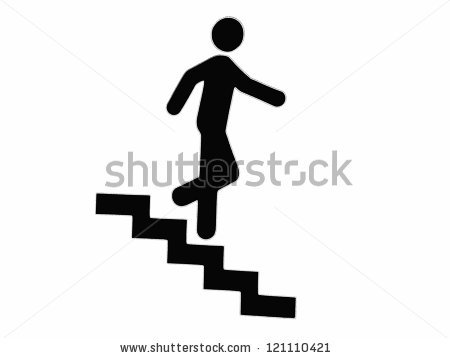 450x358 Stairs Clipart Downstairs