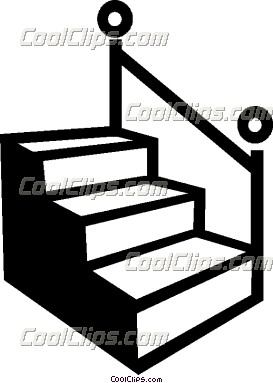 273x383 Stairs Clipart Outline