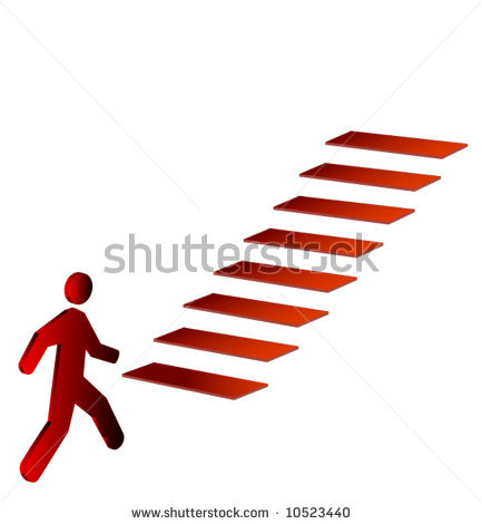 433x470 Stairs Clipart Silhouette
