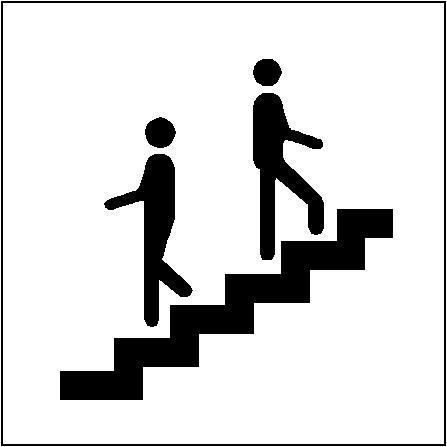 447x447 Upstairs Clip Art