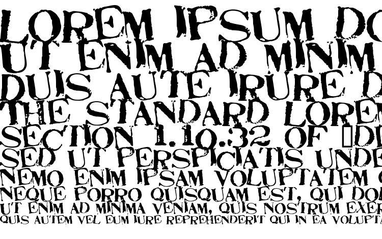 750x470 Stamp Act Jumbled Font Download Free Legionfonts