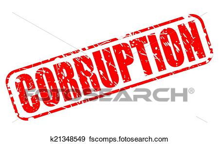 450x296 Clip Art Of Corruption Red Stamp Text K21348549