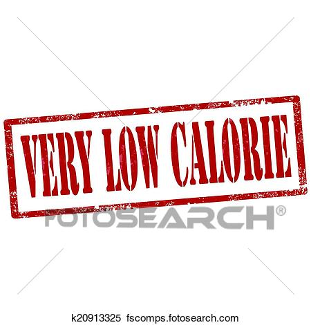 450x470 Clipart Of Very Low Calorie Stamp K20913325