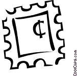 151x150 Postal Clipart Stamp