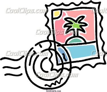 375x323 Stamp Clipart Postal Stamp