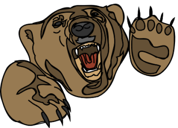 360x259 Free Grizzly Bear Clipart, 1 Page Of Public Domain Clip Art