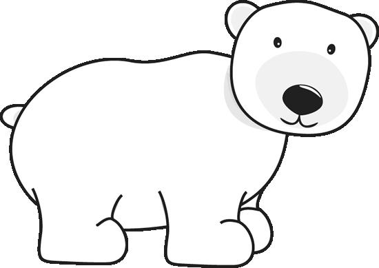 550x389 Polar Bear Clip Art Polar Bear Image