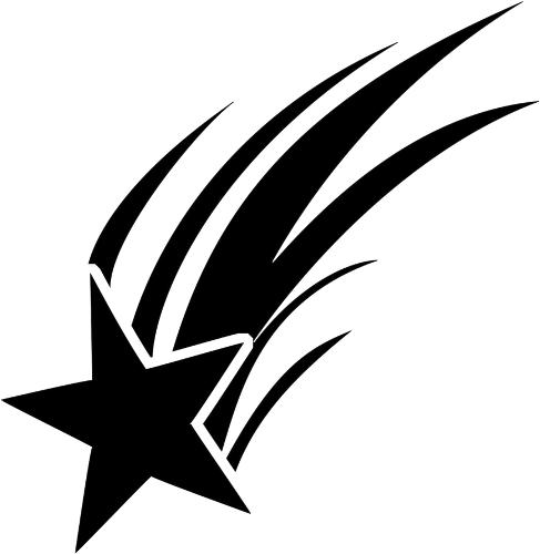 487x500 Best Black Star Clipart