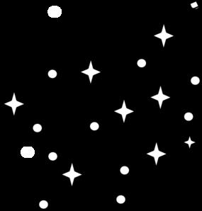 285x298 White Stars Clip Art