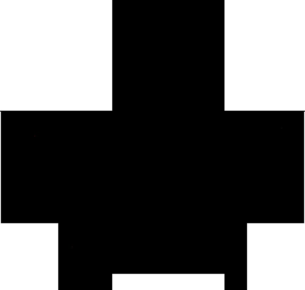 1000x951 Black Clipart Star