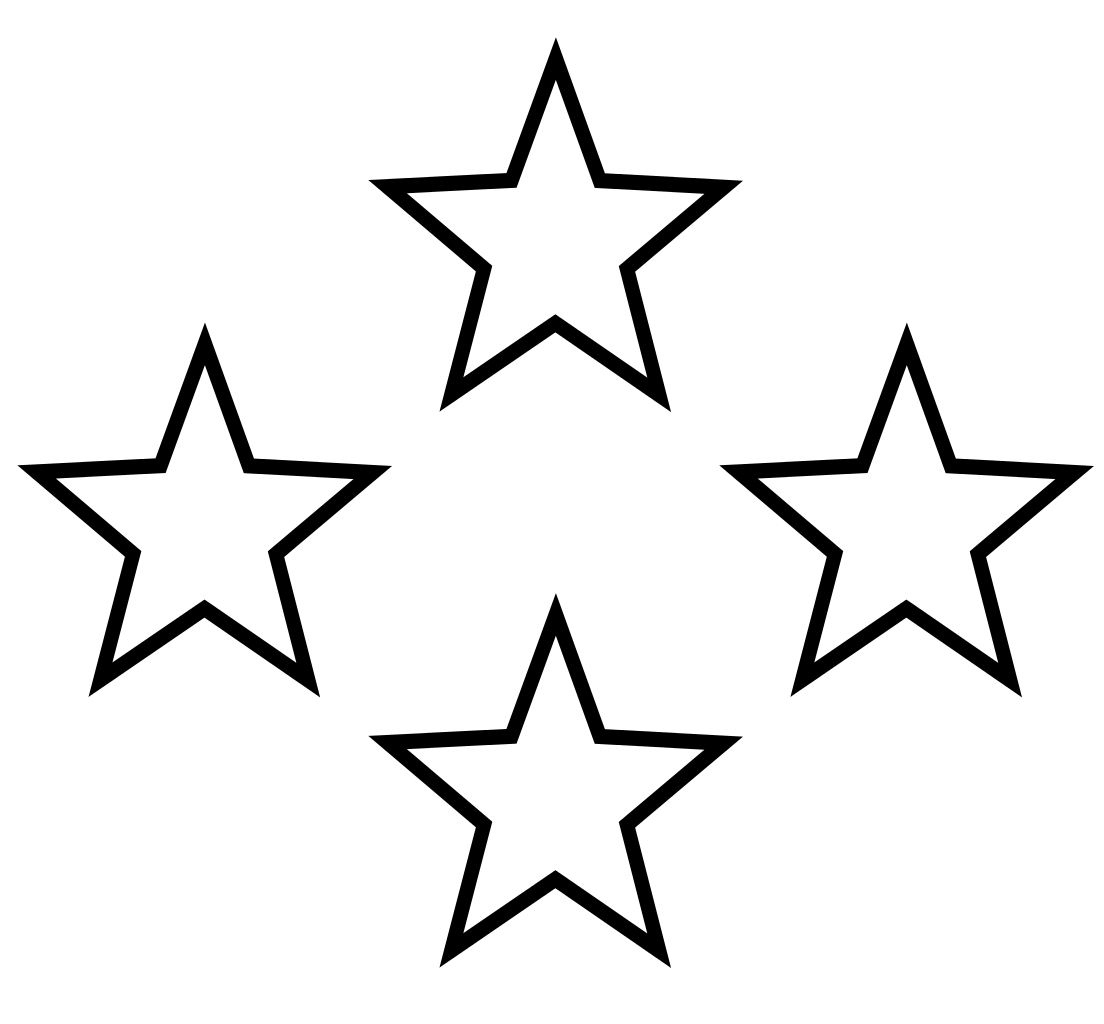 1104x1024 Star Black And White White Stars Free Download Clip Art On Clipart