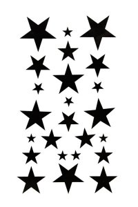 200x300 Star Clipart Little Black