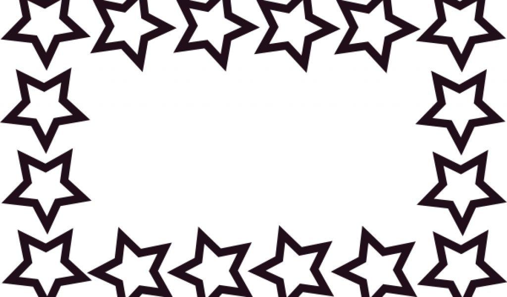 1024x600 School Border Star Border Clip Art Free Back To School Clipart