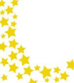 153x170 Stock Illustration Of Winning Gold Star Border K3188045