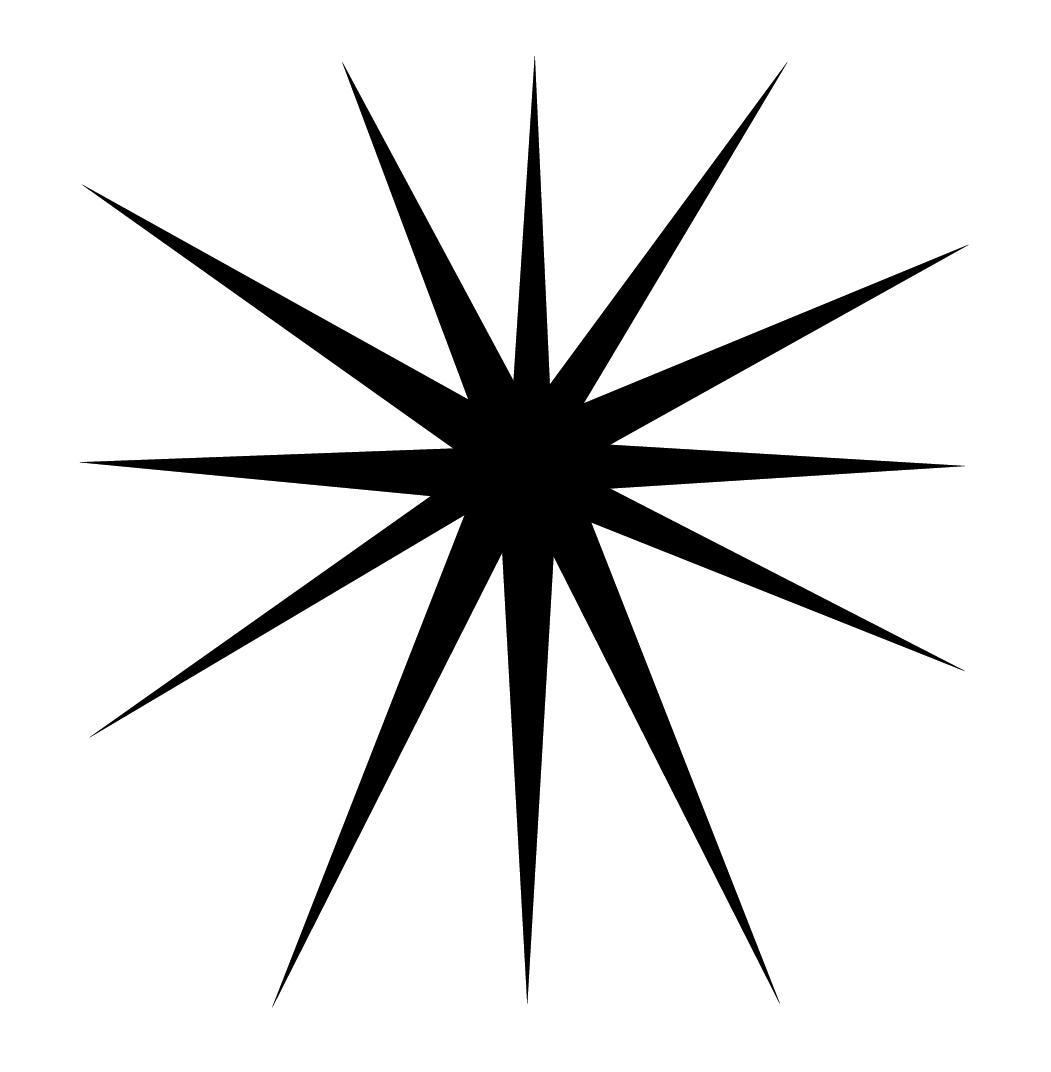 1051x1072 Top 10 Starburst Clip Art Outline Free Clipart Images Photos