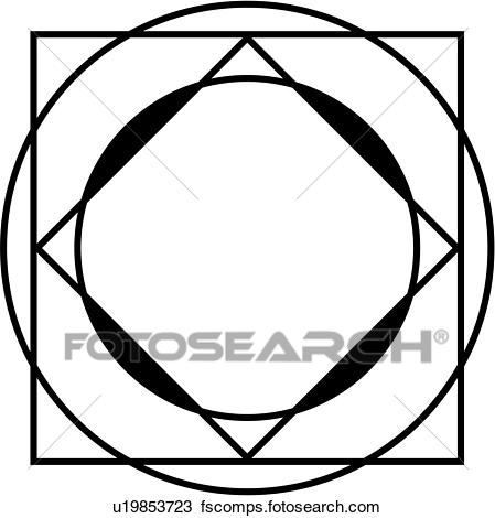 449x470 Clipart Of , Blank, Border, Fancy, Frame, Mandala, Ornament