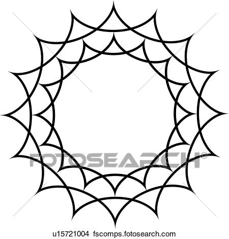 450x470 Clipart Of , Border, Curve, Fancy, Frame, Iron, Star, Starburst