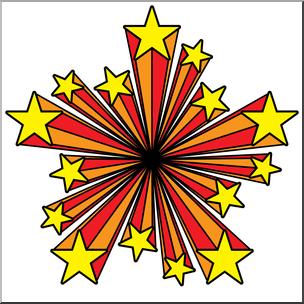 304x304 Clip Art Starburst 02 Color 02a I Abcteach