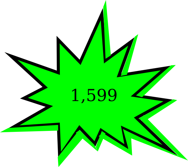 600x532 Free Starburst Clipart The Cliparts