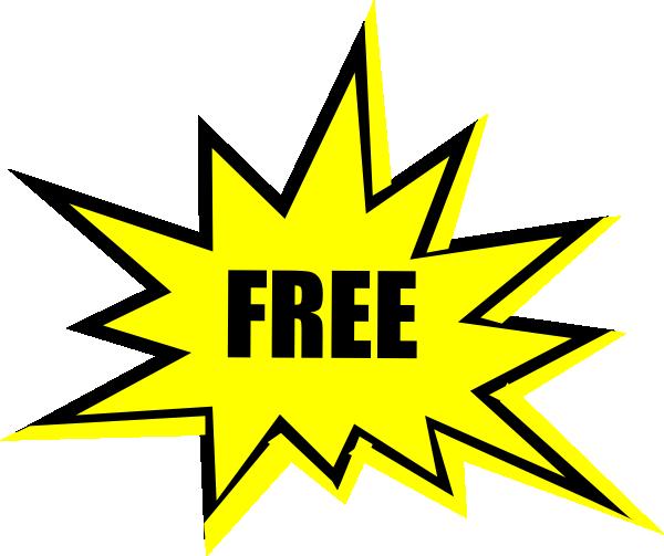 600x503 Yellow Free Starburst Clipart